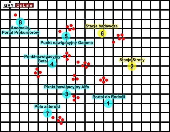 Czas wybrać się na poszukiwanie jakichś artefaktów - [Misja 08] Eridan - Star Wolves: Gwiezdne Wilki - poradnik do gry
