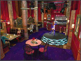 Zaczynasz od wejścia do głównej sali klubu [obrazek 1] - San Fran Club - Solucja - Lula 3D - poradnik do gry