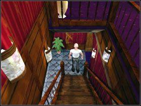 Kiedy Susan wyjdzie zabierasz patelnię ze ściany i używasz jej na senatorze [obrazek 1] - San Fran Club - Solucja - Lula 3D - poradnik do gry