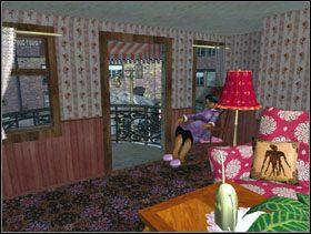 Na piętrze zabierasz zdjęcie z góry Rushmore wiszące przy schodach [obrazek 1] wchodzisz do pokoju na tym piętrze i idziesz porozmawiać z panią Schreiber [obrazek 2] - Las Vegas - Solucja - Lula 3D - poradnik do gry