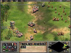 Pierwsze niebezpieczeństwo czekało nas już wkrótce - An Unlikely Messiah - Kampania Joanny DArc - Age of Empires II: The Age of the Kings - Single Player - poradnik do gry