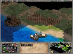 Dzięki taranowi udało się nam ją powalić - An Unlikely Messiah - Kampania Joanny DArc - Age of Empires II: The Age of the Kings - Single Player - poradnik do gry