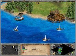 Gdy atakując w kierunku północnym dotarliśmy pod wieżę (zdj - The Cleansing of the Loire - Kampania Joanny DArc - Age of Empires II: The Age of the Kings - Single Player - poradnik do gry