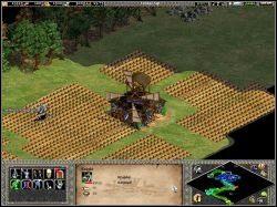 Rychło zaczęły się szturmy, więc poświęcę im parę słów - The Maid of Orleans - Kampania Joanny DArc - Age of Empires II: The Age of the Kings - Single Player - poradnik do gry