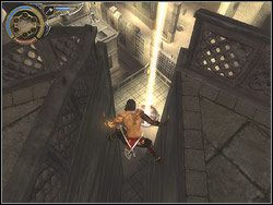 Zlokalizuj nie obarierowany odcinek wieży (od strony Wrót Piasku) - [12] The Fortress (twierdza) - Prince of Persia: Dwa Trony - poradnik do gry