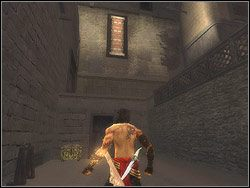 Kontynuuj eksploracj� podw�rka - [12] The Fortress (twierdza) - Prince of Persia: Dwa Trony - poradnik do gry