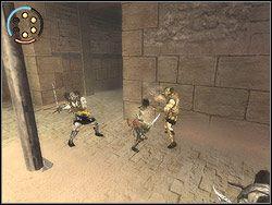 Pokusa zdobycia wielu cz�stek piask�w czasu jest silna, ale wok� nie jest bezpiecznie - [12] The Fortress (twierdza) - Prince of Persia: Dwa Trony - poradnik do gry