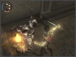 Przejdziesz teraz metamorfoz� w Mrocznego Ksi�cia - [13] The Lower City (dolne miasto) - Prince of Persia: Dwa Trony - poradnik do gry