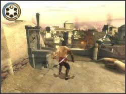 Biegnij bez tchu przed siebie, za załomem skieruj się na lewo - [13] The Lower City (dolne miasto) - Prince of Persia: Dwa Trony - poradnik do gry