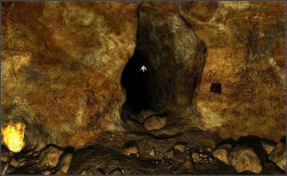 Po pokonaniu długiego labiryntu, znajdziesz się w typowo przejściowej lokalizacji (12) - opuść ją w jedynym możliwym kierunku (13) - Opis (1) - Druga jaskinia - Secret of the Lost Cavern: Tajemnica Zaginionej Jaskini - poradnik do gry