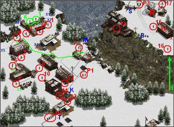 Wysiądź z wagonika i załatw trucizną kręcącego się tam Szkopka (14) - Misja 5