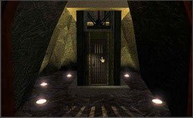 Wejdź i skieruj się do windy. Naciśnij przycisk. - SELENITIC AGE cz.1 - Myst - poradnik do gry