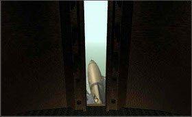 a zobaczysz, że wieża skierowana jest teraz właśnie w stronę statku kosmicznego. - SELENITIC AGE cz.1 - Myst - poradnik do gry