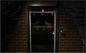 Przy pomocy zielonego przycisku otwórz drzwi i wejdź do pomieszczenia. - SELENITIC AGE cz.1 - Myst - poradnik do gry