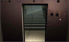Obróć się w stronę drzwi, po ich prawej stronie na ścianie wisi instrukcja obsługi. - SELENITIC AGE cz.1 - Myst - poradnik do gry