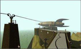Jeśli się pomylisz, nic nie szkodzi, wystarczy tylko udać się do dwóch wież, znajdujących się na trasie prowadzącej od generatora do statku kosmicznego, - SELENITIC AGE cz.2 - Myst - poradnik do gry