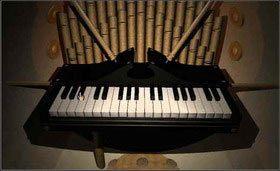 a po drugiej - klawiaturę pianina. - SELENITIC AGE cz.2 - Myst - poradnik do gry