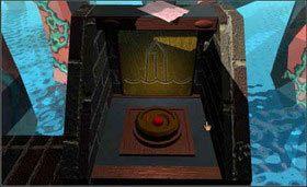 Natomiast przy przycisku z kryształem, u góry, zauważysz czerwoną kartkę. - SELENITIC AGE cz.3 - Myst - poradnik do gry