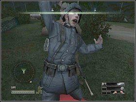 1 - Misja 3 - A Traitor? - Solucja - Commandos: Strike Force - poradnik do gry