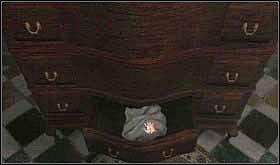 Tutaj w dolnej szufladzie znajdziesz szmatę. - SOBOTA 12 PAŹDZIERNIKA cz.3 - Scratches - poradnik do gry