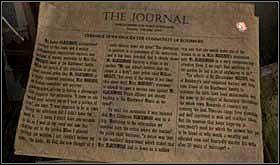 Wejdź na strych, podejdź do stosu gazet i przeczytaj dziennik z tamtego okresu. - SOBOTA 12 PAŹDZIERNIKA cz.5 - Scratches - poradnik do gry