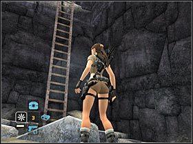 Po drodze b�dziesz musia� wspi�� si� na kilka wy�szych platform - Peru - Return to Paraiso (8) - Etap 2 - Tomb Raider: Legenda - poradnik do gry