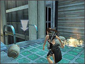 Po odzyskaniu pełnej kontroli nad Larą zacznij wykonywać kolejne skoki - Japan - Meeting with Takamoto (2) - Etap 3 - Tomb Raider: Legenda - poradnik do gry