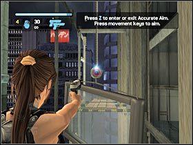 Mo�esz ju� przeskoczy� na lin�, a z niej na kolejn� p�k� - Japan - Meeting with Takamoto (2) - Etap 3 - Tomb Raider: Legenda - poradnik do gry