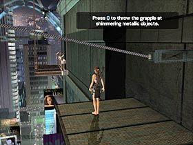 B�d�c ju� na nowej konstrukcji poczekaj a� zbli�y si� ona do bardziej odleg�ej cz�ci wie�owca, a nast�pnie dwukrotnie podskocz, tak aby automatycznie chwyci� si� kolejnej konstrukcji (#1) - Japan - Meeting with Takamoto (2) - Etap 3 - Tomb Raider: Legenda - poradnik do gry