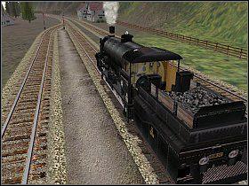 Po wczytaniu misji zobaczysz swoją lokomotywę stojącą na peronie 2 w Strengen - Replacement locomotive - Innsbruck - St. Anton - Microsoft Train Simulator - poradnik do gry