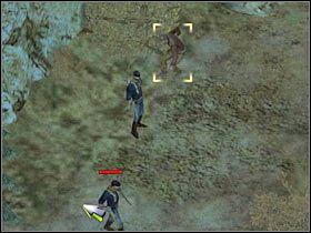3 - [Misja 3.2a] Big Canyon - Masquerade cz.1 - Desperados 2: Coopers Revenge - poradnik do gry