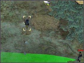 Najwi�cej problem�w sprawi ci dw�jka wartownik�w patroluj�ca okoliczne skrzy�owanie - [Misja 3.2a] Big Canyon - Masquerade cz.1 - Desperados 2: Coopers Revenge - poradnik do gry