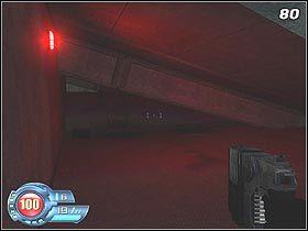 Za następnymi drzwiami zlokalizowane jest laboratorium - U4 Laboratory - Laboratory - Solucja - SiN Episodes: Emergence - poradnik do gry