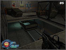 7 - U4 Laboratory - Laboratory - Solucja - SiN Episodes: Emergence - poradnik do gry