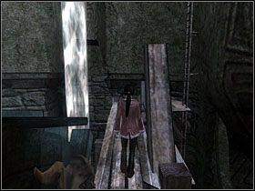 Znalazłszy się na platformie, rusza przed siebie, ups - Podziemie - Rozdział 4 - Zima - Dreamfall: The Longest Journey - poradnik do gry