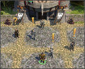 Porozmawiaj z królem, dworzanami i Nightsong - Nightsong and the Message for the King - Sevenkeeps - Threatened Homelands - Spellforce 2: Czas Mrocznych Wojen - poradnik do gry