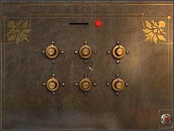 Niezbędne do tego: karta chipowa z sejfu nr 33 w błękitnej sypialni, którą wetknij w szczelinę u góry urządzenia i list od Margaret z tego samego sejfu - Warsztat - Parter - Safecracker - poradnik do gry