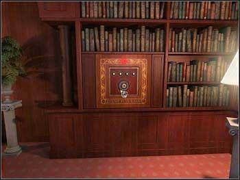 Zadanie nr 7: odkryj hasło do sejfu nr 7 i otwórz go - Główny salon - Parter - Safecracker - poradnik do gry