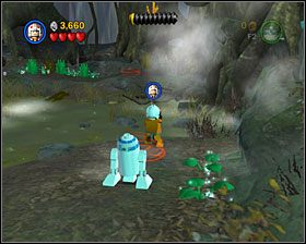 2 - Episode V - Dagobah - Story Mode - LEGO Star Wars II: The Original Trilogy - poradnik do gry