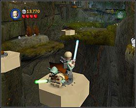 5 - Episode V - Dagobah - Story Mode - LEGO Star Wars II: The Original Trilogy - poradnik do gry