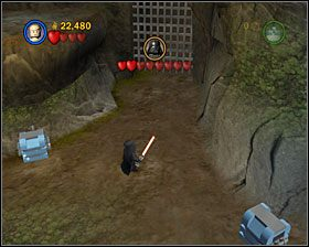 6 - Episode V - Dagobah - Story Mode - LEGO Star Wars II: The Original Trilogy - poradnik do gry