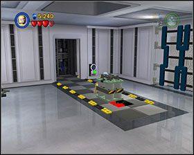 Zniszcz konstrukcję na ścianie i z klocków zbuduj działko stacjonarne - Episode V - Cloud City Trap - Story Mode - LEGO Star Wars II: The Original Trilogy - poradnik do gry