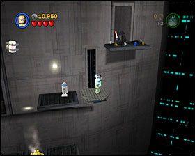 Podążaj za Vaderem, używając Mocy na klockach, by stworzyć wentylator - Episode V - Cloud City Trap - Story Mode - LEGO Star Wars II: The Original Trilogy - poradnik do gry