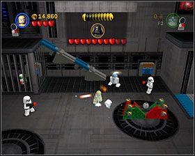 4 - Episode V - Cloud City Trap - Story Mode - LEGO Star Wars II: The Original Trilogy - poradnik do gry