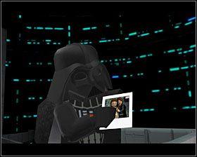 Goń Vadera przez całą sekcję, używając Mocy oraz panelu dla R2 - Episode V - Cloud City Trap - Story Mode - LEGO Star Wars II: The Original Trilogy - poradnik do gry