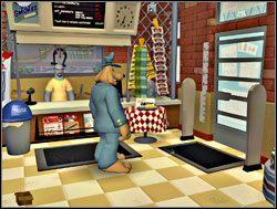 Czas zająć się Whizzerem, pomyślał Sam i dziarskim krokiem przestąpił próg sklepu - Część III - Psychoterapia grupowa - Sam & Max: Season 1 - Culture Shock - poradnik do gry