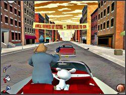 Dziwnym trafem tego dnia wszyscy kierowcy uparli się, by przestrzegać przepisów - Część III - Psychoterapia grupowa - Sam & Max: Season 1 - Culture Shock - poradnik do gry