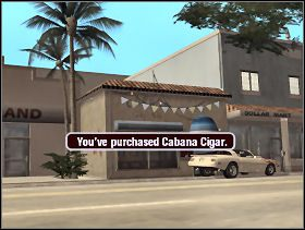 Na koniec pozostaje nam już tylko zniszczyć łódź prowadzoną przez kobietę i powrócić do kierownika sklepiku z cygarami aby zakupić obiekt za 75,000$ - Cabana Cigar - Little Havana - Scarface: Człowiek z Blizną - poradnik do gry