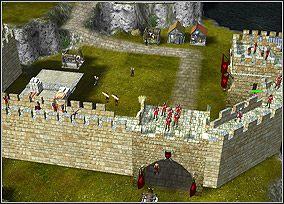 Dobrze strze�one mury to po�owa sukcesu - Chapter III - Lancelot - Kampania King Arthur - Twierdza Legendy - poradnik do gry