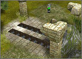 Pułapki można wykorzystywać przeciwko wrogom! - Chapter IV - The Making of Sir Gareth - Kampania King Arthur - Twierdza Legendy - poradnik do gry